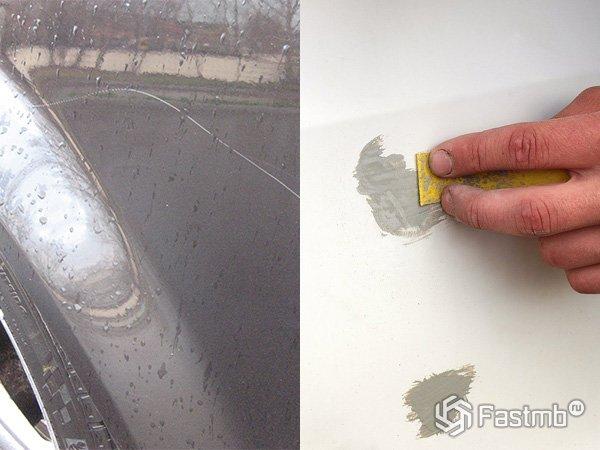 Как подкрасить сколы и царапины на кузове автомобиля