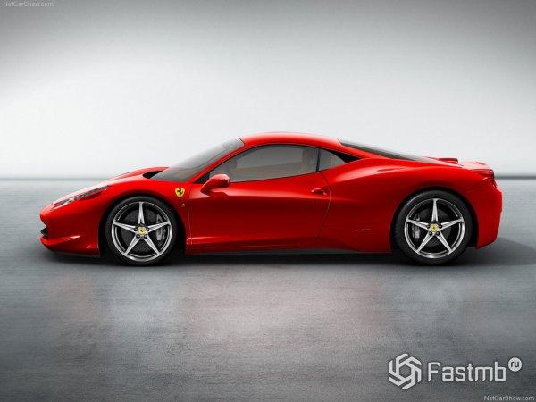 Серийная Ferrari 458 Italia
