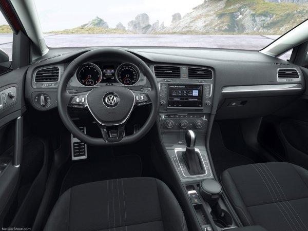 Салон Volkswagen Golf Alltrack 2015-2016
