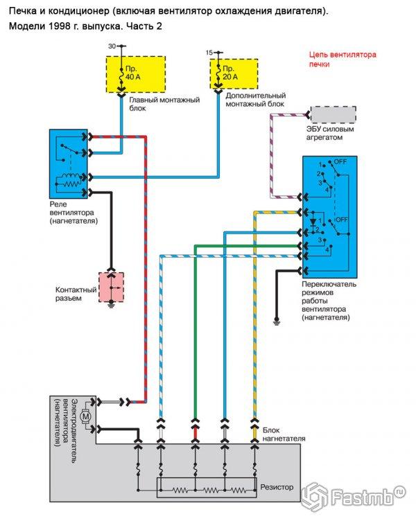 Р схемы кондиционеров