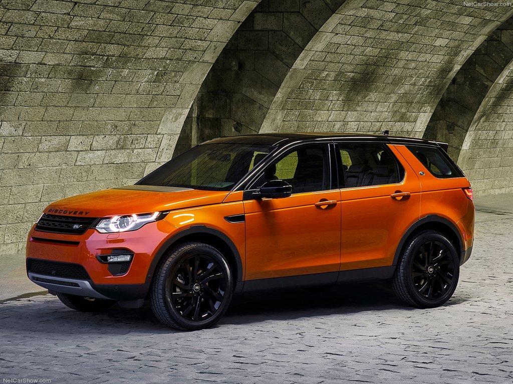 Новый Land Rover Discovery Sport 2015 обзор фотографии