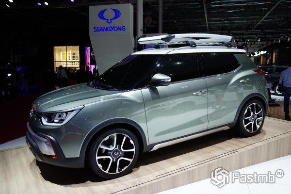 SsangYong Adventure 2015