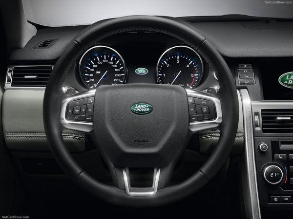 Салон Land Rover Discovery Sport 2015