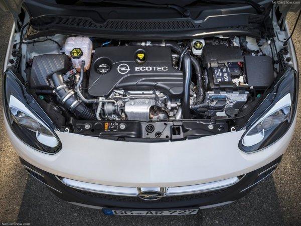 Технические характеристики Opel Adam Rocks - двигатель