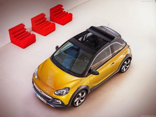 Крыша Swing Top у Opel Adam Rocks