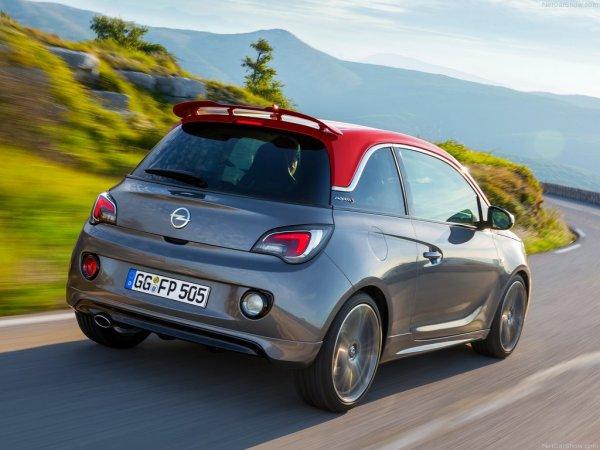 Opel Adam S - спортивный вариант