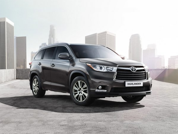 Цена Toyota Highlander 3 2014