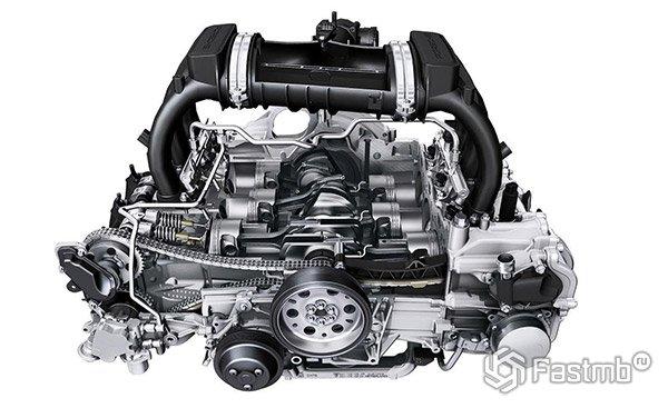 Преимущества оппозитного боксера - Porsche