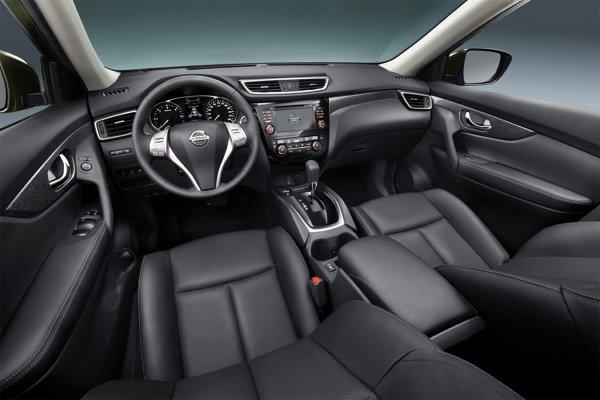 Салон Nissan X-Trail T32 2015