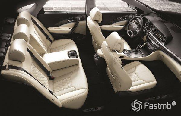 Салон Hyundai Aslan