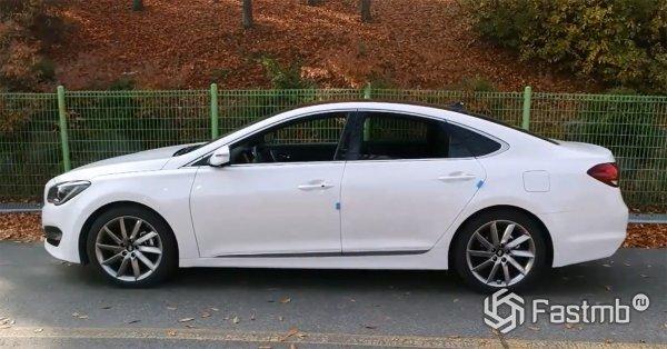 Технические характеристики Hyundai Aslan