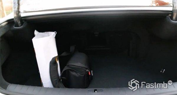 Размер багажника Hyundai Aslan