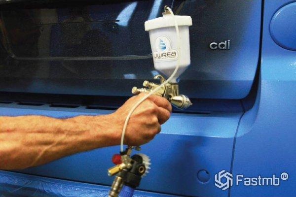 Как наносить жидкую резину на кузов автомобиля