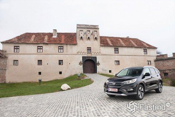 Цены и комплектации Honda CR-V 2015