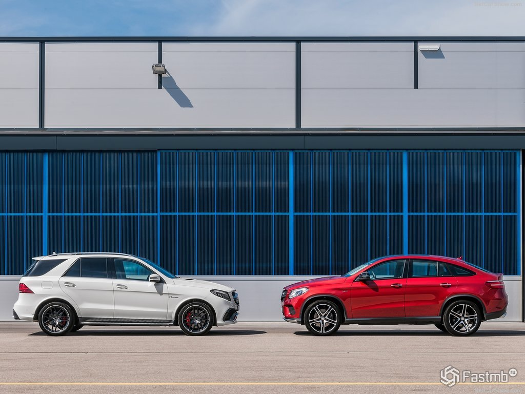 Mercedes GLE AMG купе бесплатно
