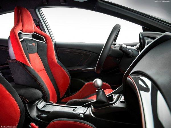 Спортивное водительское сиденье Honda Civic Type R