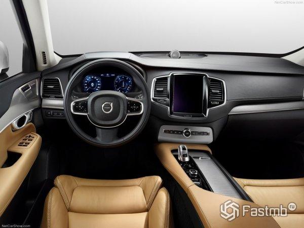 Передняя панель Volvo XC90 2015