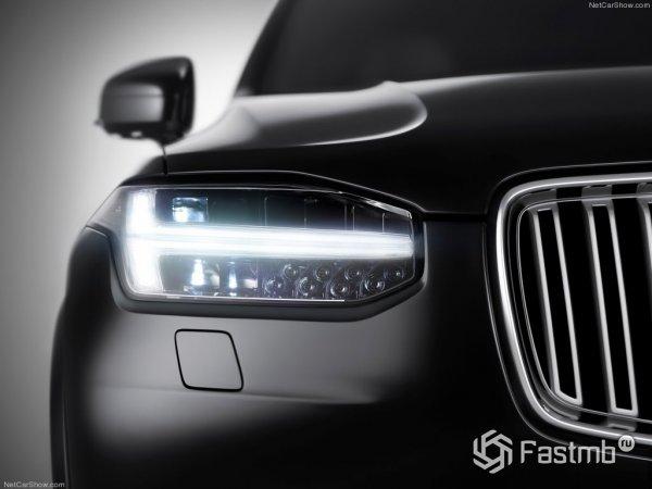 Передняя оптика Volvo XC90 2015