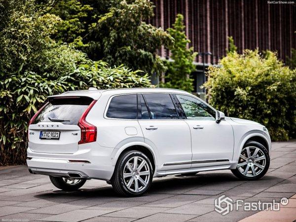 Новые черты Volvo XC90 2015