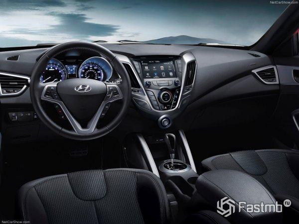 Салон Hyundai Veloster Turbo 2015