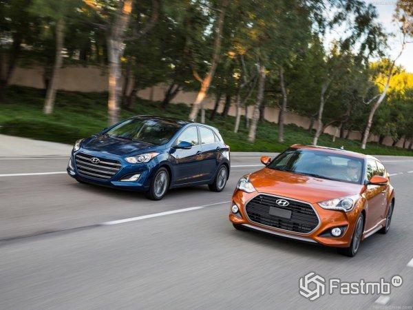 Старый и новый Hyundai Veloster 2015