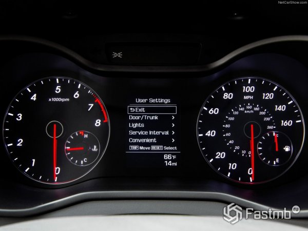 Приборная панель Hyundai Veloster 2015