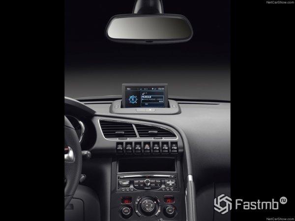 Передняя панель Peugeot 3008 2015
