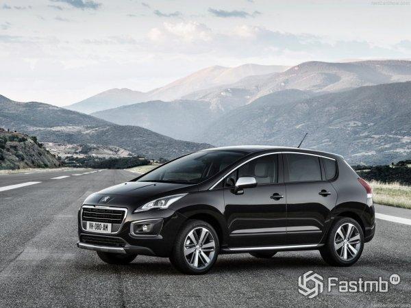 Peugeot 3008 2015, вид сбоку
