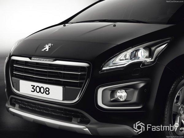 Peugeot 3008 2015, вид спереди