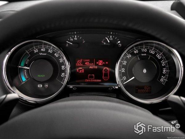 Панель приборов Peugeot 3008 2015