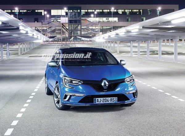 Renault Megane 2016, официальные фото