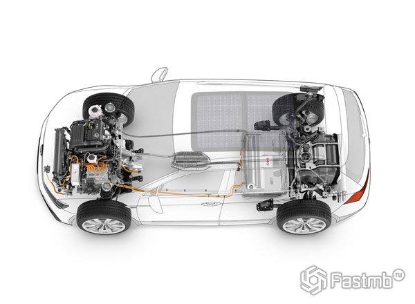 Volkswagen Tiguan подвеска 4MOTION