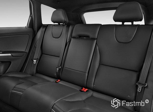 Задние сиденья XC60