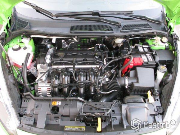 Двигатель Фиесты 85 л.с 1,6 литра
