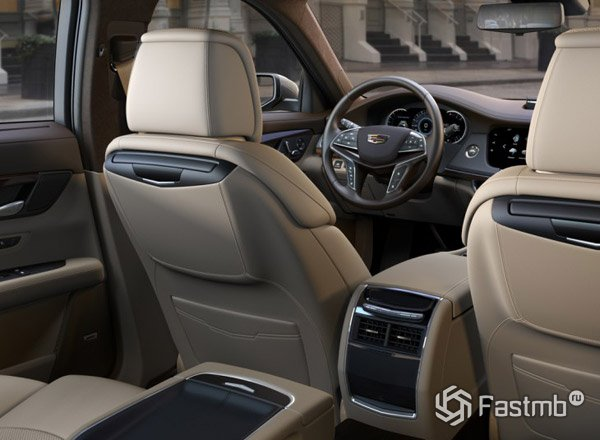Cadillac CT6, интерьер автомобиля