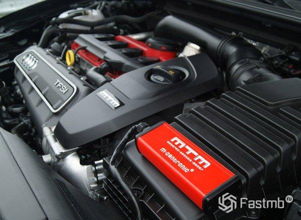 Модернизированный двигатель RS3