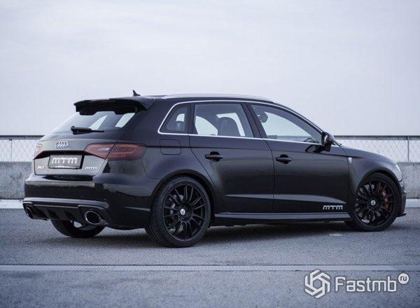 Audi RS3 MTM, вид сбоку