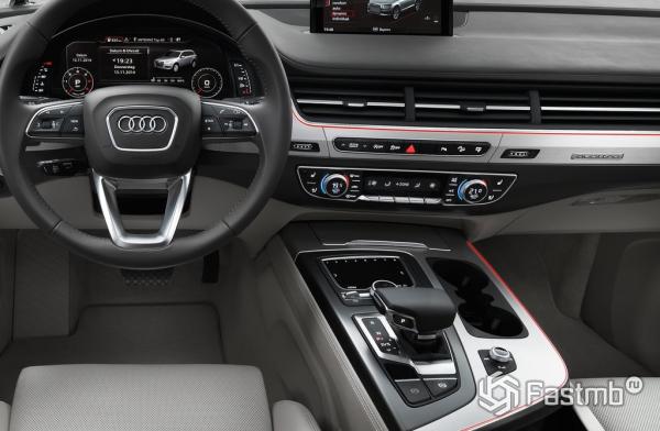 Центральная консоль Audi Q7 2015