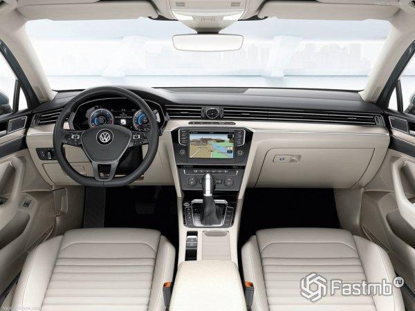 Фото салона VW Passat 2015