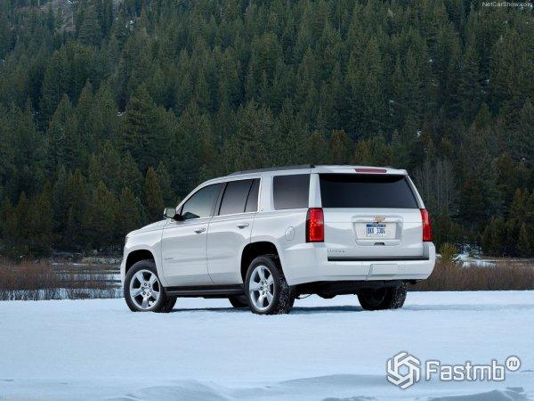 Chevrolet Tahoe 2015 - вид сзади