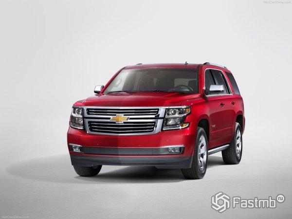 Красный цвет для Chevrolet Tahoe 2015 смотрится очень эффектно