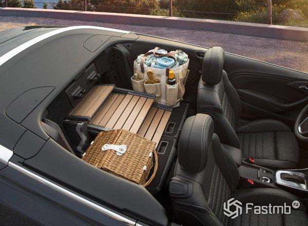 Салон кабриолета Buick Cascada