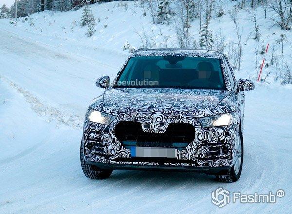 Новый Audi Q5, вид спереди