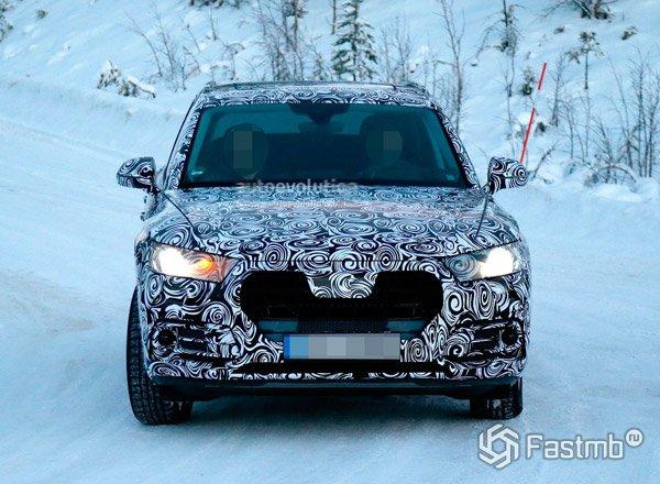 Новый Audi Q5 2017, вид спереди