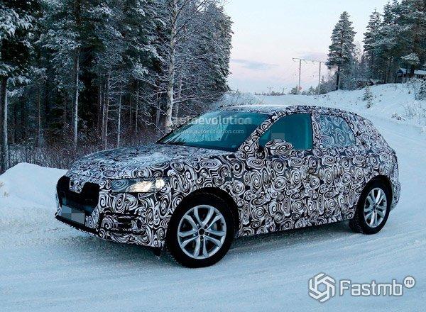 Новый Audi Q5, вид сбоку
