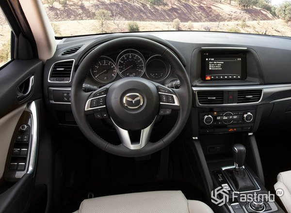 Mazda CX-5, передняя панель