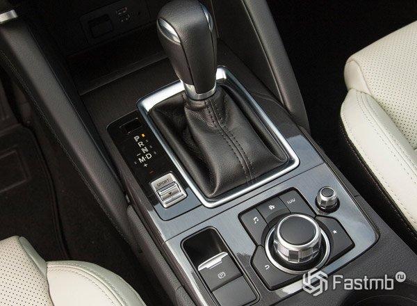 Mazda CX-5, рычаг КПП