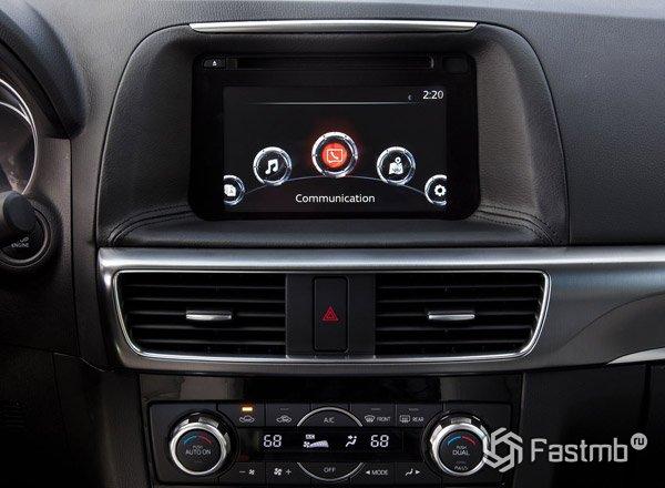 Mazda CX-5, информационный дисплей