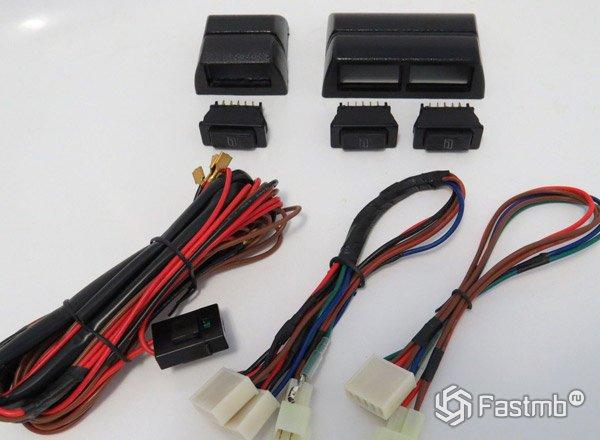 Кнопки управления электро стеклоподъемниками