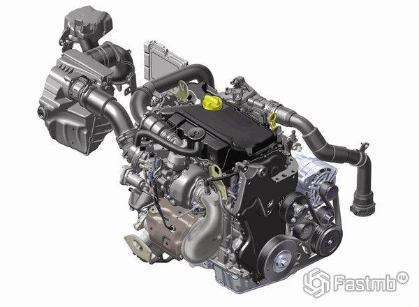 Renault Megane 2016, двигатель dCi 130